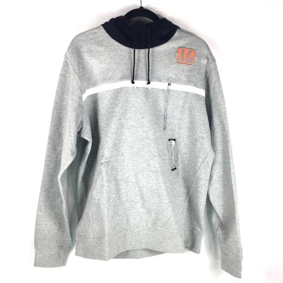 best service 43bba 46467 Nike Cincinnati Bengals NFL Pullover Hoodie